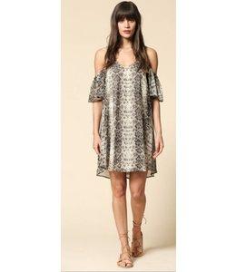BT Cold Shoulder Dress 633