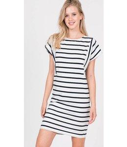 Shoe Shi Striped Midi Dress 791
