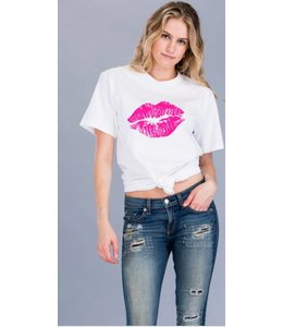 Shoe Shi Pink Lips Top 281