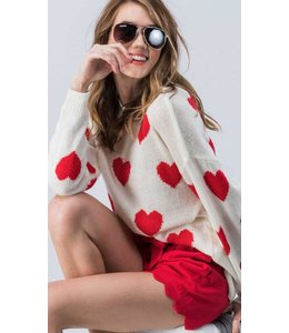 Shoe Shi Valentine Sweater 6851