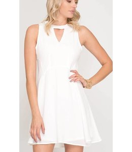 SS Sleeveless Flare Dress