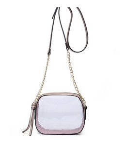 Shoe Shi Clear Purse 1822