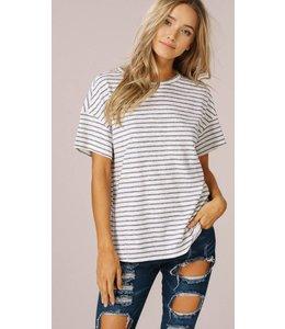 LT Striped Jersey Top 0325