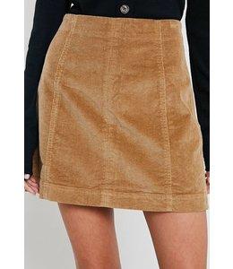 Shoe Shi Corduroy Skirt 1561