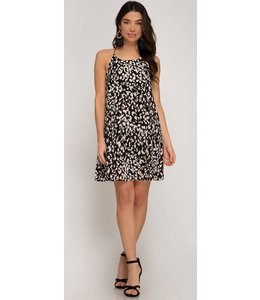Shoe Shi Leopard Swing Dress 9624