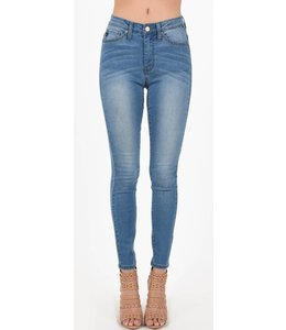 KC High Rise Skinny Jean 6009