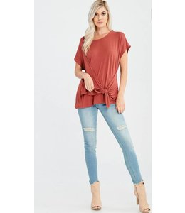 WL Front Knot Top 0501