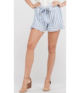 WSH Bow Front Striped Short 181169