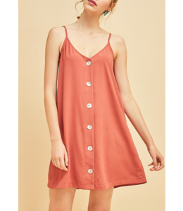 Entro Button Down Dress 11406