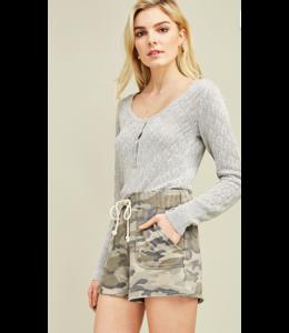 Entro Soft Tie Shorts 4499
