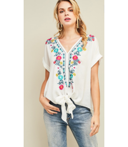 ETO Floral Top 10375
