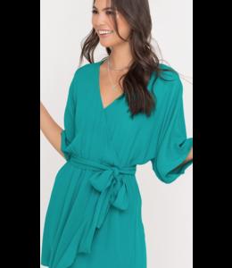 LSH Wrap Mini Dress 95714