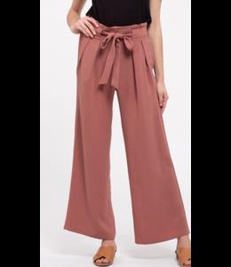 bp Front Knot Woven Pants 4521