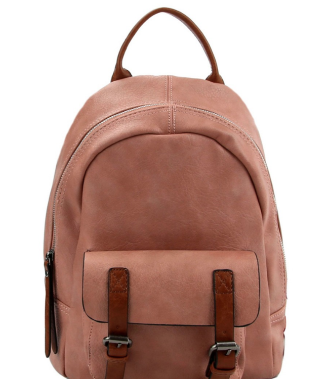 BB Buckle Accent Backpack 079