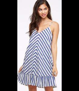 PLC Striped Sleeveless Dress 7333