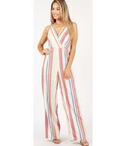 MH Striped Cami Jumpsuit 82194