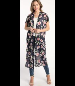 SAB Printed Kimono 23088