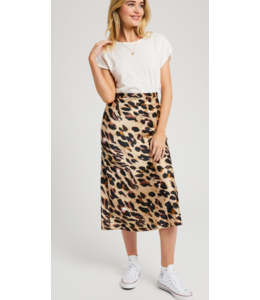 WL Midi Print Skirt 2365
