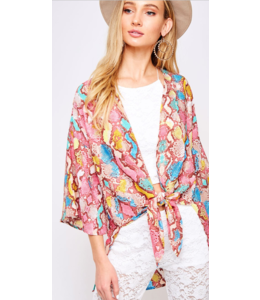PLC Stop and Stare Kimono 50009