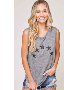 FF Sleeveless 5-Star Graphic Tank Top 92241