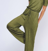 FF Thick Elastic Off Shoulder Jumpsuit 91002
