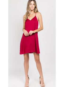 CA Solid Stain Dress 7691