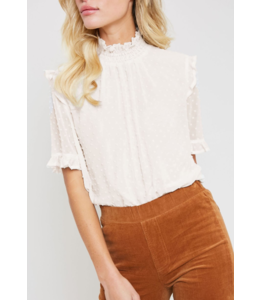 WL Sinched Neck Top 1771