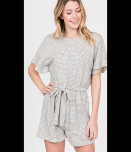 PC Striped Cotton Jersey Romper 47734