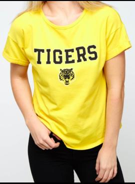 PLC Tiger Cuffed Sleeve Tee 60656