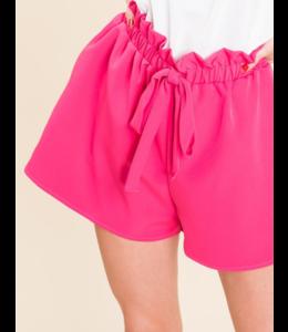 BB Side Pocket Elastic Waist Shorts 9024