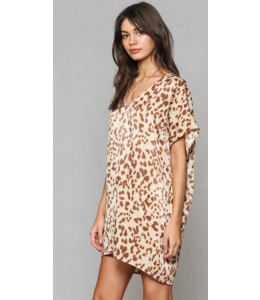 BT Printed Satin Tunic with Pockets 1485