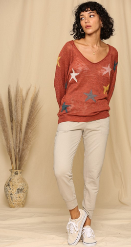 BT Knit Star Pull Over 1046