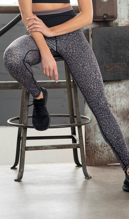 MB Highwaist Block Leggings 2398