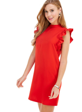 TC Ruffled Sleeve Dress 8830