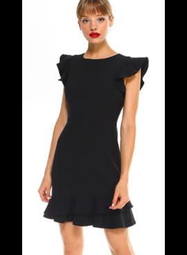 TC Two Layer Ruffled Bottom Dress 11568