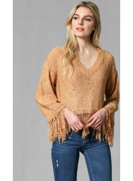 FT Fringed Sweater 274