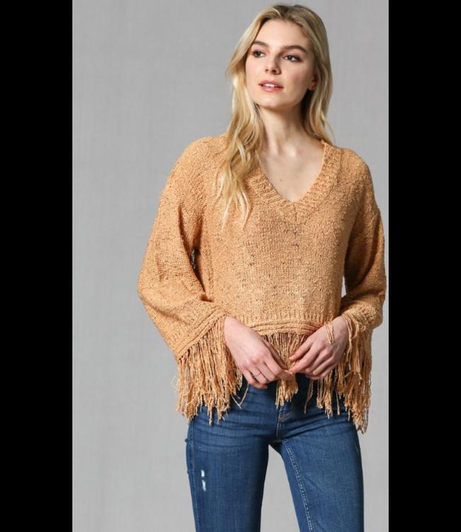 FT Fringed Sweater 274