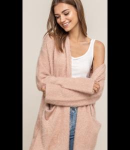 LH Fuzzy Knit Cardigan 13916
