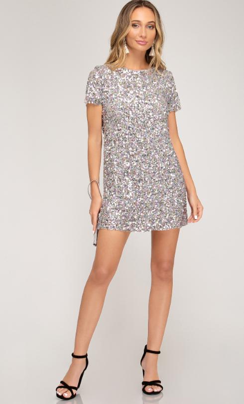 SS Sequin Mini Dress 2179