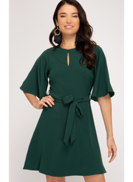 SS Fit And Flare Dress 2041