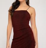SS Lurex Knit Cami Dress 1955