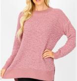 ZA Long Sleeve Popcorn Sweater 1911