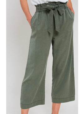WL Cropped Paperbag Pants 1650