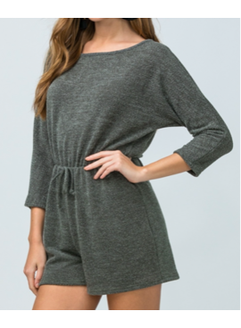 ETO Knitted Sweater Romper 4994