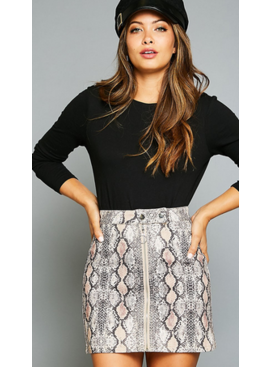 PLC Buckle Up Skirt 10021