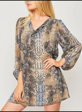 PLC Woven Dress 22589