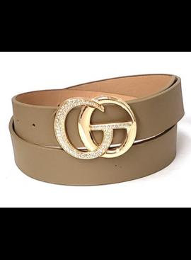AA Double Ring GC Buckle 3332