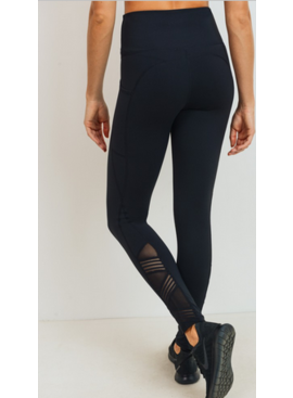 MB Mesh Highwaist Leggings 2492