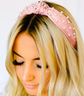 MA Pearl Embellished Headband