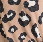 AB Leopard Print Cardigan 1050